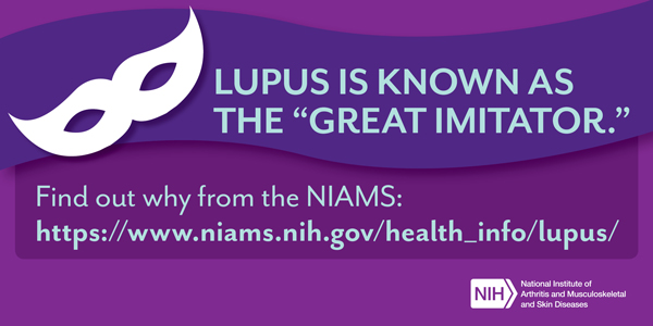 Lupus is known as the 'Great Imitator'. - Lupus Imitator card