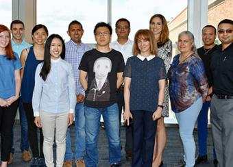 Systemic Autoimmunity Branch group photo