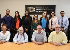 2018 NIAMS summer interns